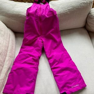 Girls Columbia Snowsuit, Size 6/7